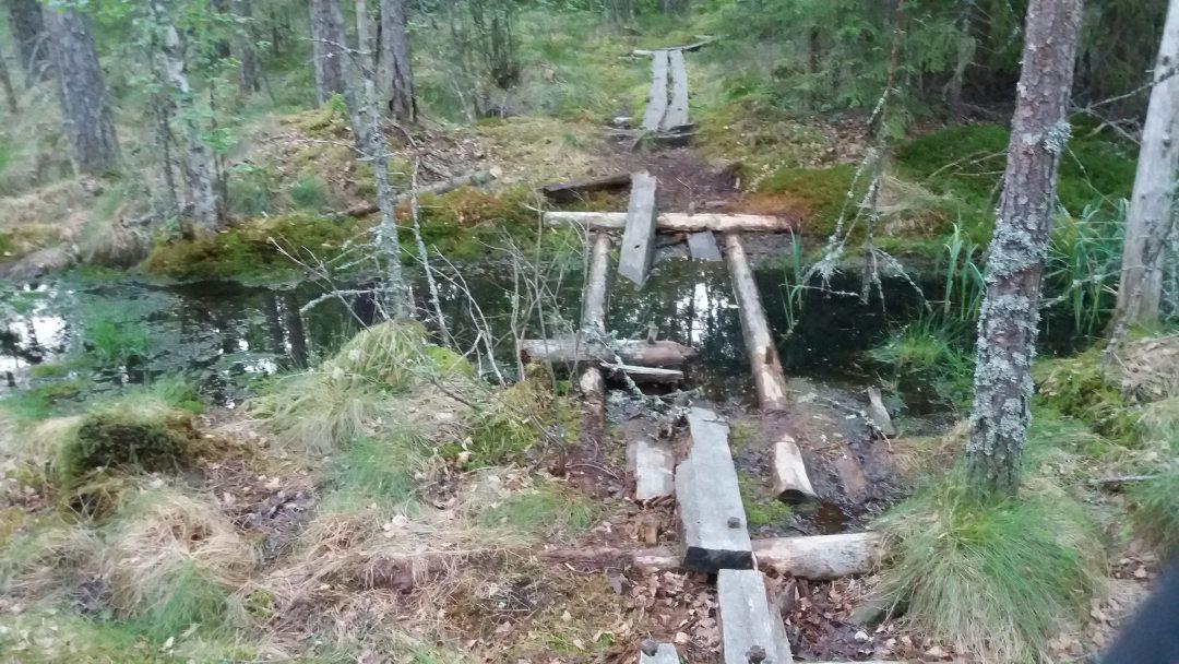 Turku-Pori maastopyörällä, Kurjenrahkan kansallispuisto, Kuhankuonon retkeyretti