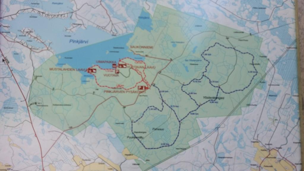 Pinkjärvi kartta